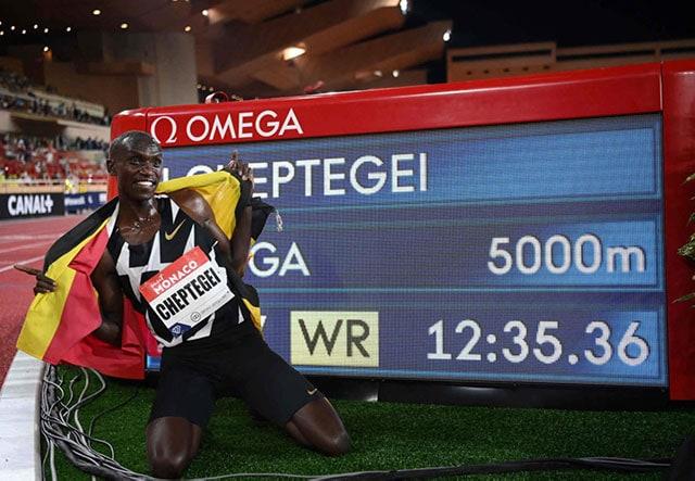 Джошуа Чептегеи – новый рекордсмен в беге на 5 000 метров