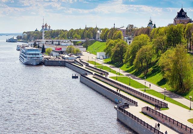 Где побегать в Ярославле