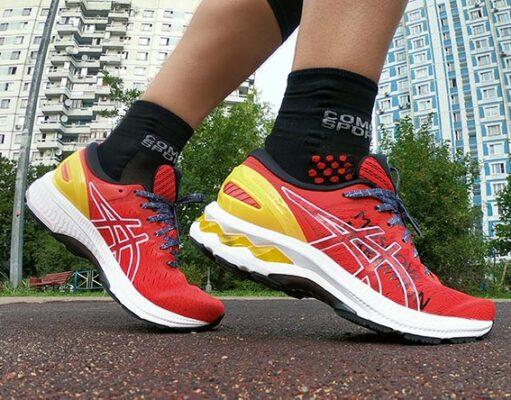 Обзор ASICS Gel-Kayano 27 – лимитированной модели кроссовок для Московского марафона