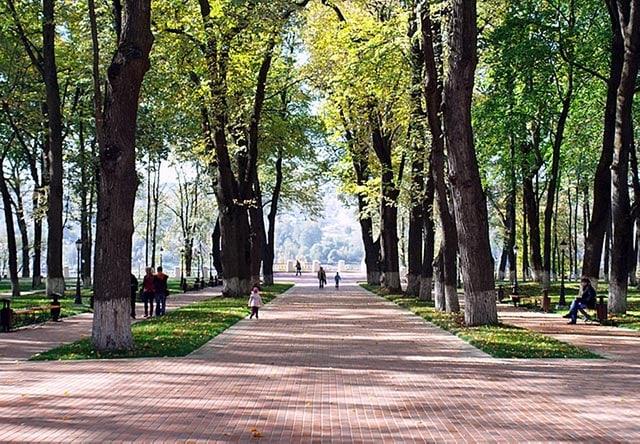 Где побегать в Калуге: парки, стадионы, интересные маршруты