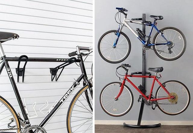 Как и где хранить велосипед зимой