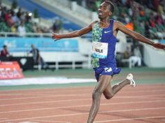 Гетнет Уэйл показал второй результат в истории в беге на 3000 метров