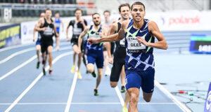 Эллиот Джайлс установил второй результат в истории в беге на 800 метров