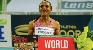 Новый мировой рекорд среди женщин на дистанции 1500 метров