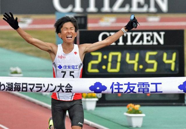 В Японии показаны сильнейшие результаты в марафоне