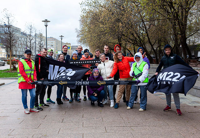 В Москве состоялась суточная эстафета по Садовому кольцу