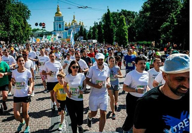 Где побегать в Киеве: парки, набережные, популярные забеги