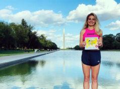 Нина Зарина одержала победу в международном забеге Wings for Life