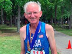 Побит мировой рекорд на 50 км в категории М70