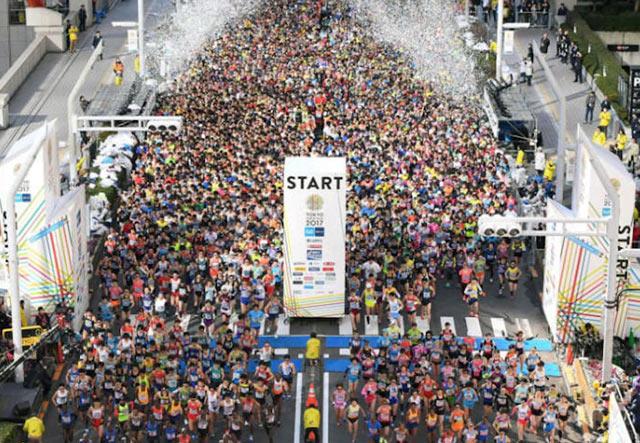 Токийский марафон не сможет принять иностранных бегунов в ближайшие два года