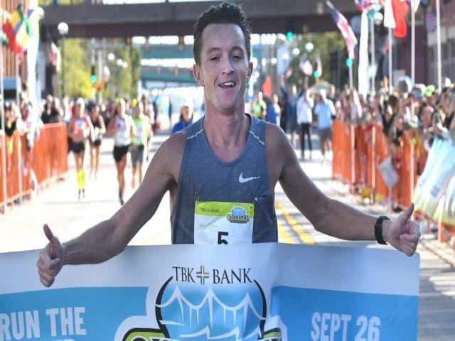 Тайлер Пенс выиграл марафон в Иллинойсе из-за ошибки волонтёра