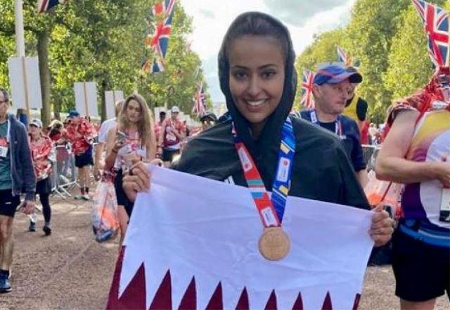Спортсменка из Катара установила 9 новых национальных рекордов