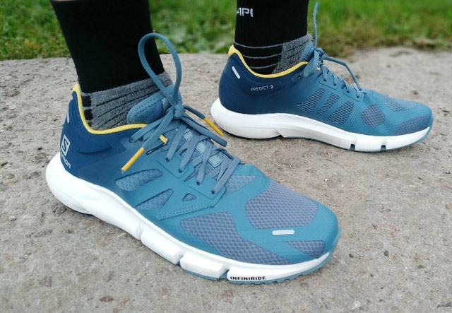 Salomon Predict 2: обзор шоссейных кроссовок на особой подошве